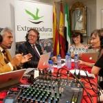 Presentación Vino y Cava Almendralejo en Casa Regional Barcelona.