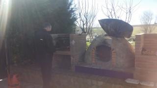 Preparando barbacoa