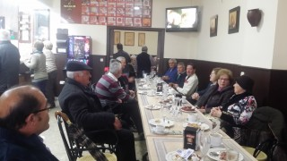 Desayuno Migas con Cava de Almendralejo en El Abuelo