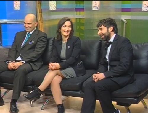 Entrevista en el programa EL Paseo de Radio Televisión Ceuta