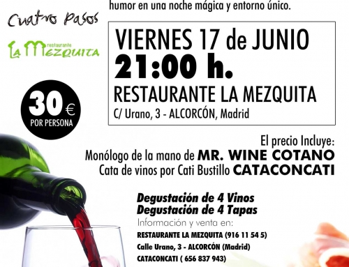 Cataconcati «Entre Risas y Vinos» 17 de Junio