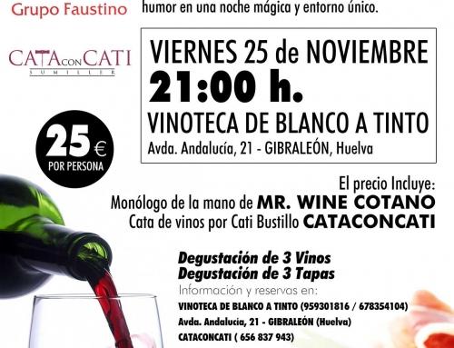 Cataconcati «Entre Risas y Vinos» 25 de Noviembre