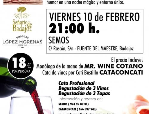 Cataconcati «Entre Risas y Vinos» 10 de Febrero