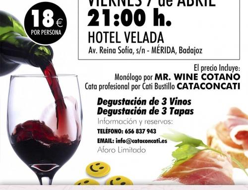 """Cataconcati """"Entre Risas y Vinos"""" 7 de Abril"""