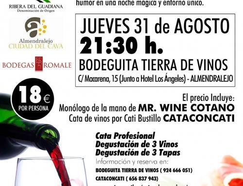 """Cataconcati """"Entre Risas y Vinos"""" 31 de Agosto"""